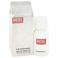 Plus Plus Feminine by Diesel 2.5 oz Eau de Toilette Spray New in Box (Women)