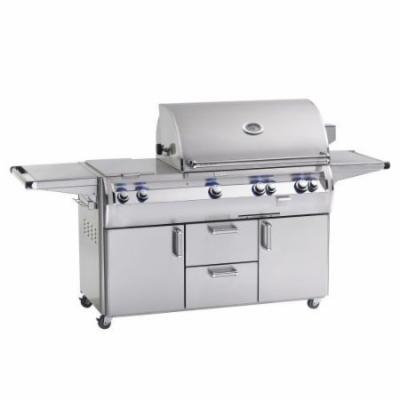 E660s4AAP71 Analog Style Stand Alone Grill - Liquid Propane