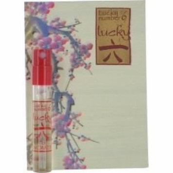 LUCKY NUMBER 6 EAU DE PARFUM SPRAY VIAL ON CARD WOMEN