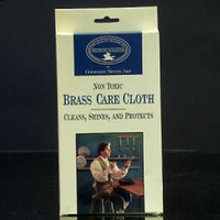 Non-Toxic Environmentally Safe Tarnish Inhibitor Brass Care Shine and Polishing Cloth Non-Lacquered Surfaces Cleaner