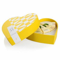 Tea Forté Couture Petite Heart Gift Box with 5 Designer Pyramid Tea Infusers - Black Tea, Green Tea, White Tea, Herbal Tea