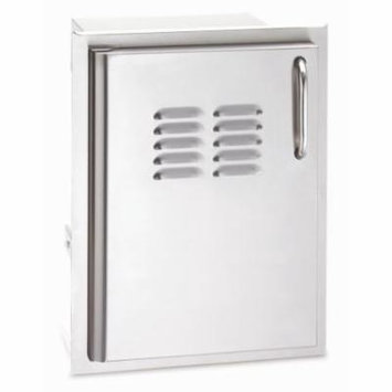 Replacement Single Access Door with Tank Tray and Louvers