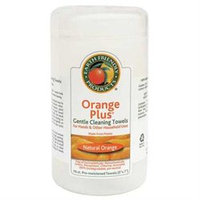 Earth Friendly Products Orange Plus Gentle Cleaning Towels