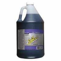 SQWINCHER 040202-GR Sports Drink Mix,6 gal.,Grape,PK4 G4050938