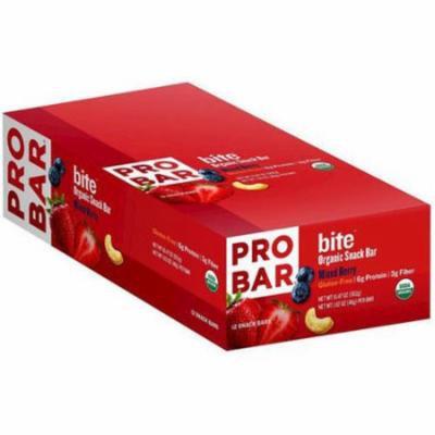 Pro Bar Bite Organic Mixed Berry Snack Bar, 1.62 oz., (Pack of 12)