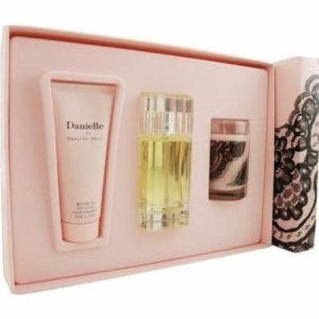 Danielle By Danielle Steel 3 Pieces Gift Set for Women 1.7 Oz Eau De Parfum+ 3.3 Oz Body Lotion + 2.5 in Candle