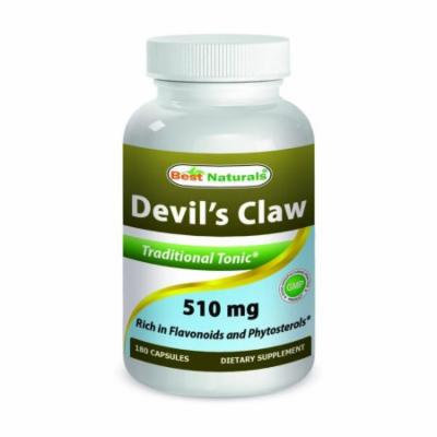 Best Naturals Devil's Claw 510 mg 180 Capsules