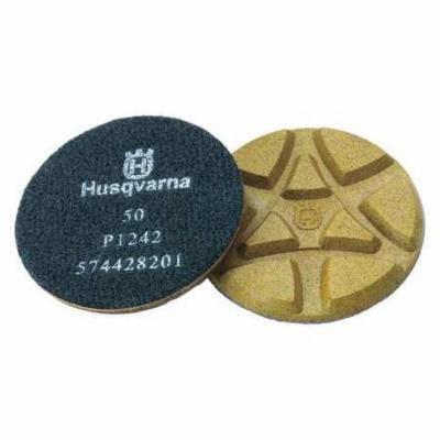 HUSQVARNA P 1242 Polishing Pads, 50 Grit, 5 In