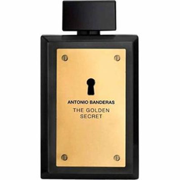 Antonio Banderas The Golden Secret Men Eau De Toilette Spray, 1.7 Ounce
