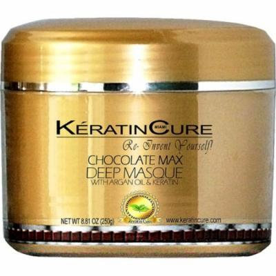 Keratin Cure Chocolate Deep Masque Revitalizing Hair Repair 250g/8floz