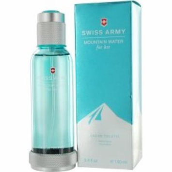 Swiss Army Mountain Water Victorinox Edt 3.4 Ounce Women