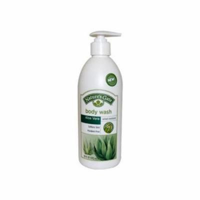 Natures Gate 0423863 Aloe Vera Velvet Moisture Body Wash, 18 fl oz