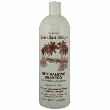 Hawaiian Silky Shampoo Neutral 32 oz. (Pack of 3)