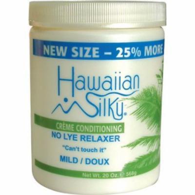 Hawaiian Silky No-Lye Relaxer - Mild Bonus 20 oz. (Pack of 2)