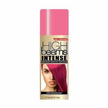 High Beams Intense Temporary Spray-On Hair Color - Popstar Pink 2.7 oz (3 pack)