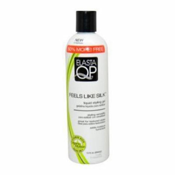 Elasta QP Feels Like Silk Liquid Styling Gel for Unisex, 12 Ounce