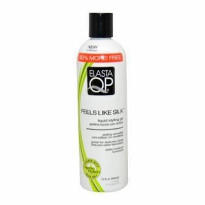 Elasta QP Feels Like Silk Liquid Styling Gel for Unisex, 12 Ounce
