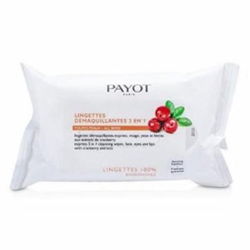 Payot Express 3 In 1 Cleansing Wipes For Face, Eyes & Lips