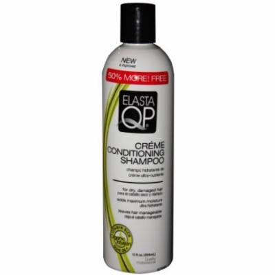 Elasta Qp Creme Conditioning Shampoo for Dry Damaged Hair 12 oz. (Pack of 6)
