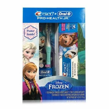 Crest & Oral-B Pro-Health Jr. Disney Frozen Toothpaste & Toothbrush