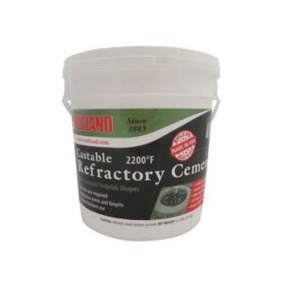 Castable Refractory Cement - 12 1/2 Lb Tub
