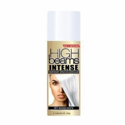 High Beams Intense Temporary Spray-On Hair Color - Wicked White 2.7 oz (3 pack)