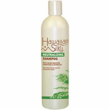 Hawaiian Silky Shampoo Neutral 8 oz. (Pack of 6)