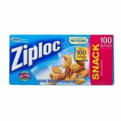 Glade CB011443 Diversey Ziplock Snack Bag, Clear