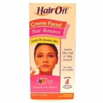 Hair Off Facial Hair Removal Creme 1.8 oz. (Pack of 2)