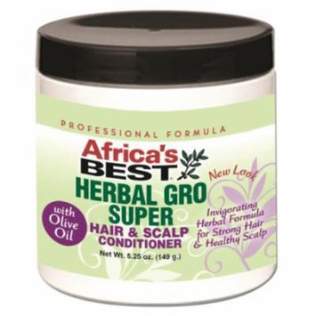 Africa's Best Herbal GRO Super Conditioner 5.25 oz. (Pack of 2)