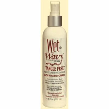 Wet-N-Wavy Tangle Free Leave-In Conditioner 8 oz. (Pack of 2)