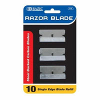 Bazic Razor Replacement Blade, Pack of 10 - Case of 24