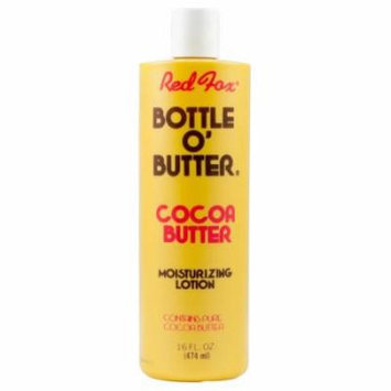 Red Fox Bottle O Butter Cocoa Butter Lotion 16oz