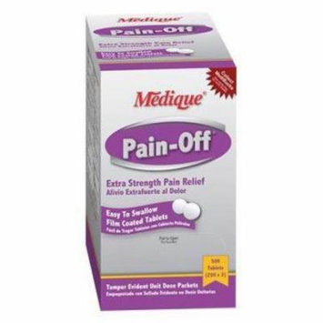 Pain off Tablets 50x2 by Medique 22833 - Pack of 100 Tablets