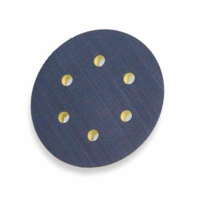 NORTON Disc Backup Pad, 6 Dia, Hook and Loop 63642506146
