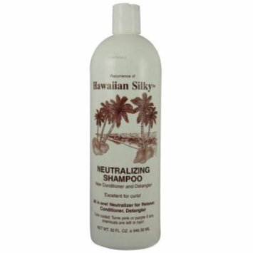 Hawaiian Silky Shampoo Neutral 32 oz. (Pack of 2)