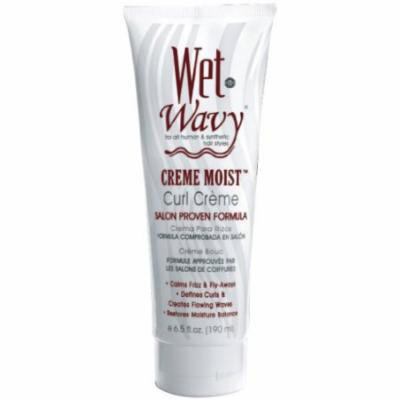 Wet-N-Wavy Curl Moisturizing Cream 6.5 oz. (Pack of 6)