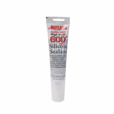 600F Degrees Rtv Silicone Sealant (Red) - 2.7 Fl Oz Tube