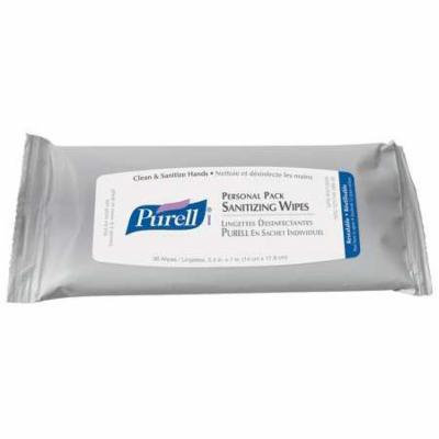 PURELL 9036-24 Hand Sanitizing Wipes, Clear, PK 24