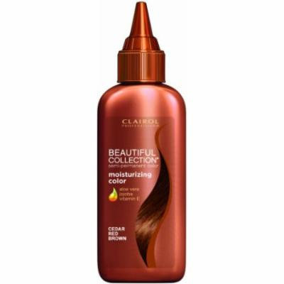 Clairol Beautiful Collection Hair Color - #14 - Cedar Red Brown 3 oz. (Pack of 6)