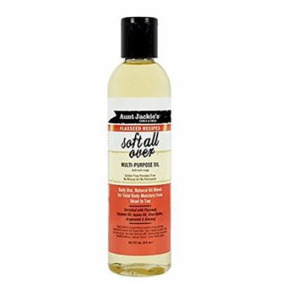 Aunt Jackie's Soft All Over Multi Purpose Oil 8 oz. (Pack of 2)
