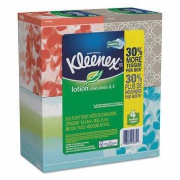 Kimberly Clark Consumer 25834CT Lotion Facial Tissue, 2-Ply