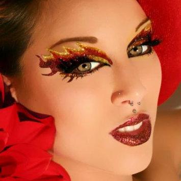 Blaze Glitter Eyes False Eyelashes Eye Paint Eye Art Sexy Exotic Eyes Applique