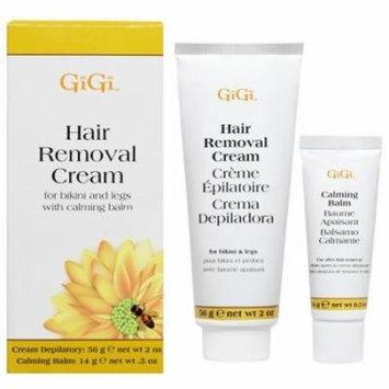 Gigi Hair Removal Cream W/Balm For Bikini & Legs (Pack of 4)