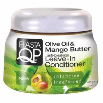 Elasta QP Olive & Mango Leave-In Conditioner 15 oz. (Pack of 6)