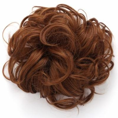 OneDor Synthetic Messy Hair Bun Extension Chignon Hair Piece (12#-Light Brown)