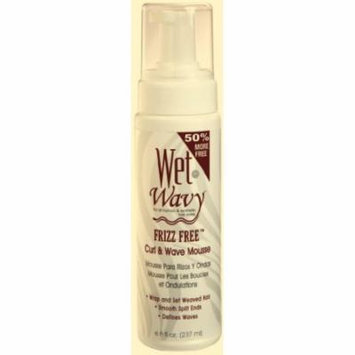 Wet-N-Wavy Curl Foam Mousse 8 oz. (Pack of 2)