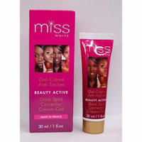 Fair & White Miss White Beauty Active Dark Spot Corrector Cream Gel 1 oz. (Pack of 4)