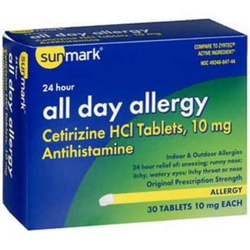 Sunmark All Day Allergy Tablets - 30 ct