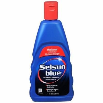 Selsun Blue Medicated Dandruff Shampoo 11 Oz (2 Pack)